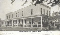 Mt. Clemens  , Mich - The Tennessee ( hotel)  pm 1906
