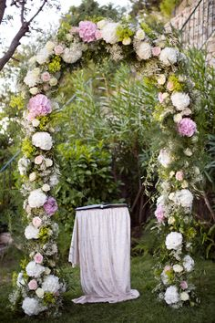 ceremony arch--in case we do the ceremony/reception in Brown County.