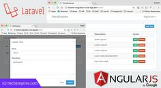 Laravel 5.5 AngularJS CRUD Operations Application  -  https://www.laravel-vuejs.com/laravel-5-5-angularjs-crud-operations-application/  -    #Laravel, #LaravelVueJs, #VueJs