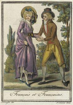 Costumes de Différent Pays, Français et Françaises. Jacques Grasset de Saint-Sauveur (France, 1757-1810) Labrousse (France, Bordeaux, active late 18th century) France, circa 1797