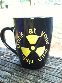 Black 12 oz glass coffee mug will make a great gift for that radiologic technologist in you life! On mug it has a radiation symbol and in yellow (Xray Tech Week) Radiology Student, Radiology Humor, Nursing Memes, Funny Nursing, Nursing Quotes, Medicine Humor, Radiologic Technology, Dental Jokes, Nuclear Medicine