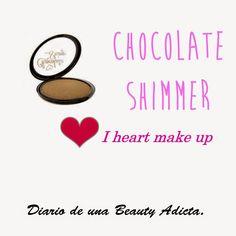 Diario de una BeautyAdicta: POLVOS BRONCEADORES CHOCOLATE SHIMMER DE i HEART MAKE UP