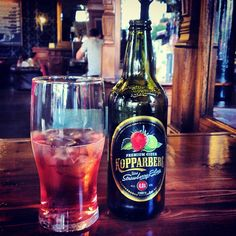 Koppaberg Cider (Strawberry Lime), one of my favourites! #thecidertester