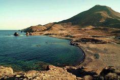 Cala del embarcadero, Los Escullos #Almería