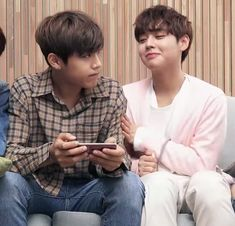 Wanna-One - Woojin and Jihoon - 2Park! Pink Sausages!