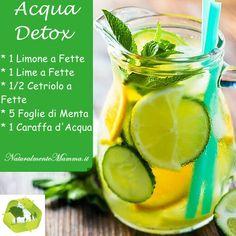 Acqua Detox Limone Cetriolo