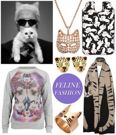 Inspired by Choupette Lagerfeld: Cat Fashion - Coco's Tea Party