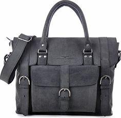 URBAN FOREST, Cntmp, Leder, Handtaschen, Messenger Bag, Businesstaschen, Aktentaschen, Laptoptaschen, Notebooktaschen, Umhängetaschen, DIN-A4, Natur-Leder, 39x29x10cm (B x H x T)