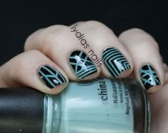 Lydia's Nails: NEW31DC - Day 10 - Geometric