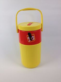 VTG Coleman 1/2 Gallon Slim Jim Water Cooler Thermos Jug Collectible PlayStation #ColemanSlimJimPS3