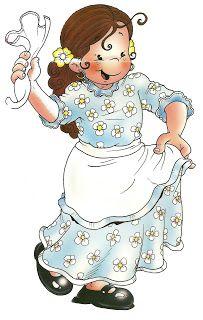 Maestros de Corazón: Imágenes baile tradicional chileno: La cueca Gaucho, Chi Chi, Dragon Ball, Cinderella, Disney Characters, Fictional Characters, Barbie, Clip Art, Disney Princess