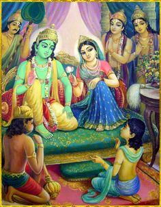 SITA RAMA   Artist: Vasudeva Krishna das