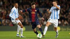 FC Barcelona 2 - 2 Málaga #FCBarcelona #Game #Match #Copa