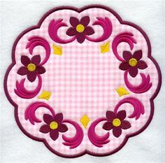 Machine Embroidery Designs at Embroidery Library! - Coasters & Trivets (In-the-Hoop)