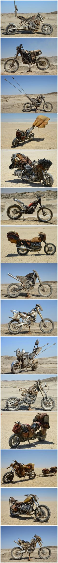 The custom motorcycles