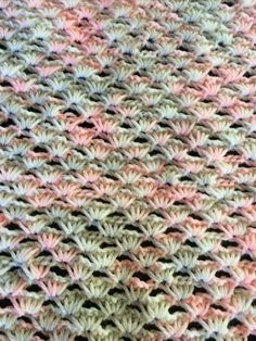Fiddle Baby Comfort Blanket - Tunisian Crochet | Not My Nana's Crochet!