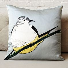 I need TWO pillows for my couch - something fun and funky.  Needs to look good on a brown couch, light grey walls.  But i am up for anything!  Check Target, West Elm, Urban, Homegoods, etc.