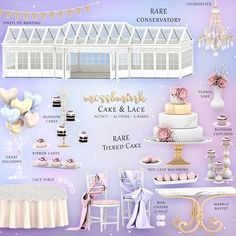 {moss&mink} Cake & Lace - Conservatory RARE with full set The Sims 4 Pc, Sims Four, My Sims, Sims Cc, Sims 4 Mods, Sims 4 Game Mods, Maxis, Die Sims 4 Packs, The Sims 4 Cabelos