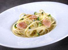 Recette facile : spaghettis au saumon frais et brocolis