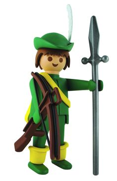 Playmobil Figurine de collection - Robin Des Bois Luigi, Mario, Deco, Collection, Toys, Classic, Fictional Characters, Design, Shopping