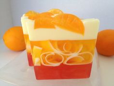 Spiced Mandarin - glycerin soap; orange and clove,