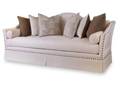 Shop for Century Furniture Meade Sofa, and other Living Room One Cushion Sofas at Ariana Home Furnishings in Cumming, GA. Living Room Sofa, Living Room Furniture, Living Room Decor, Living Rooms, Stacy Furniture, Empire Furniture, Cushions On Sofa, Living Room Designs, Home Furnishings