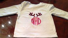 http://www.sewsydneyblake.com/product/antler-monogrammed-christmas-shirt