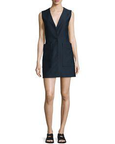 RAG & BONE Rag & Bone Fleet Sleeveless Cotton-Blend Dress, Salute. #ragbone #cloth #