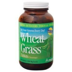 The powder works best and you do not have to take 7 pills 3-4 times a day. 1 tablespoon of the powder works for me. Pines International Wheat Grass 500 mg Made with Organic Ingredients 500 Tablets by Pines International.