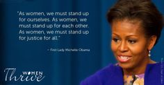 Happy 50th Birthday Michelle Obama! Thank you for your work on women's rights and social justice.