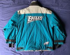 Men s vintage 90 s Champion NFL Philadelphia Eagles winter jacket size XL 38559b368