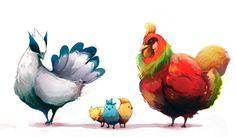 These Chicken are Legendary #Pokemon