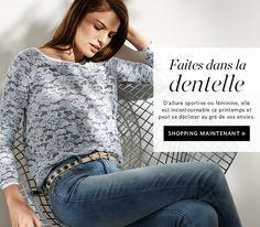 Esprit Online-Shop - Mode & accessoires pour femmes, hommes, enfants