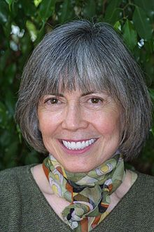 Anne Rice (b. 1941), author of The Vampire Chronicles.