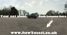 Don't struggle #alone. Get #tech #support and help at home with #technology #lessons  www.how2useit.co.uk