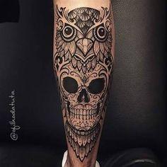 tattoo coruja mexicana - Pesquisa Google