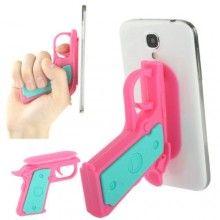 Suporte Gadget Pistola Smartphone - Rosa 7,99 €