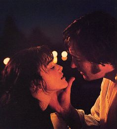 Mr. Darcy & Lizzy Bennet. I watched this over and over.