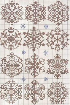 beautiful snowflake knit pattern
