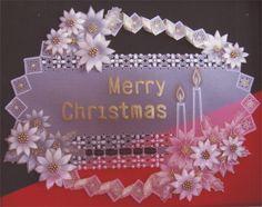 [パーチメントクラフト : 今井 真智子] 大通文化教室 Vellum Crafts, Parchment Design, Parchment Cards, Quilling, Merry Christmas, Greeting Cards, My Favorite Things, How To Make, Papercraft