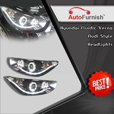 Exclusive offer on Auto Accessories only @ Autofurnish. @HyundaiIndia Headlights Audi Style http://www.autofurnish.com/stylish-lights-2   #auto   #accessories   #autofurnish   #car
