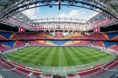 mooiste stadion van nederland Amsterdam City Centre, Afc Ajax, Soccer Tournament, Durham Region, Sports Stadium, Best Club, Soccer World, Football Stadiums, Team Player