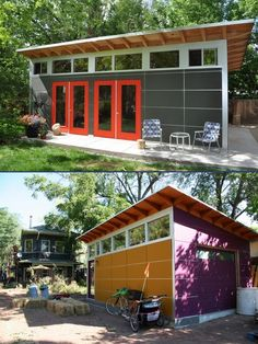 From Studio Shed: 14x26 top  14x22 bottom on The Owner-Builder Network  http://theownerbuildernetwork.co/wp-content/blogs.dir/1/files/sheds-1/14x26_top-14x22_bottom.jpg