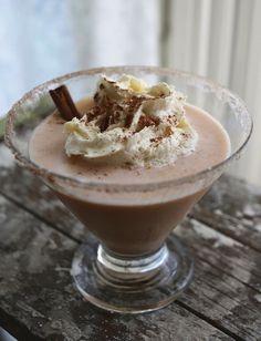 Recipe: Pumpkin Cheesecake Martini #recipe #cocktail #martini