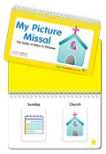 My Picture Missal Flip Book and Mass Picture Cards (10 pack)...for toddlers/preschoolers and children with special needs