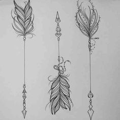 A tattoo is a rather beautiful means to brand your entire body. A feather tattoo can likewise be put to use as a sign of good dreams. All you have to enjoy having a terrific feather tattoo on your body… Continue Reading → Tatoo Henna, 1 Tattoo, Tatoo Art, Piercing Tattoo, Tattoo Arrow, Piercings, Unalome Tattoo, Sketch Tattoo, Lotus Tattoo