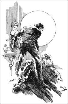 Roy Krenkel - Tales of the 3 planets by Edgar Rice Burroughs.