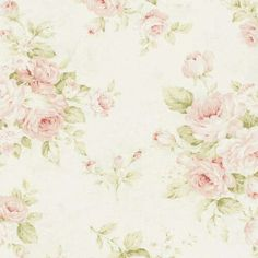 I love soft pink and pale green together. I think that came from old linens similar to these.