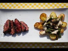Folge72 - Onglet & Béchamel Kartoffeln [Deutsches BBQ- Grill & Kochrezept] - YouTube