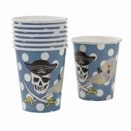 Pirate cups, trgovina Popolna dekoracija, 2,60 eur / 8 kozarcev